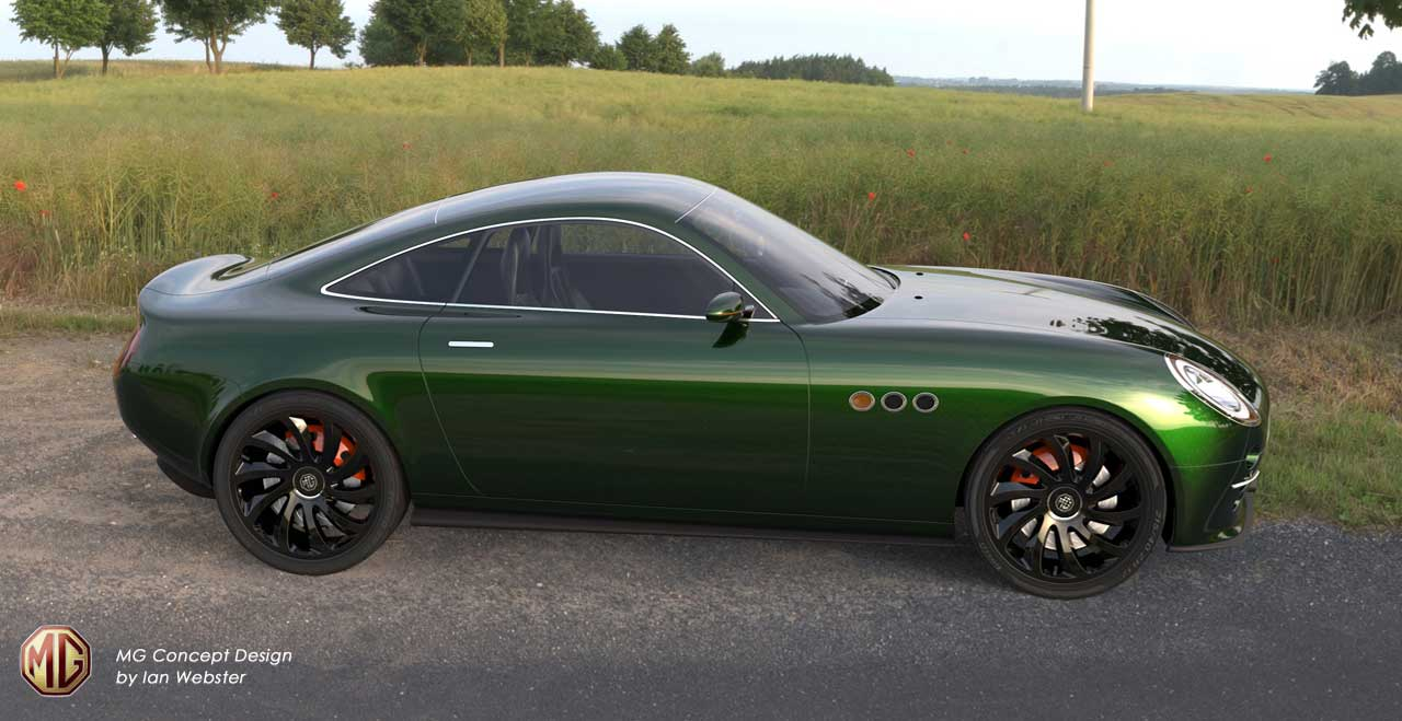 mg bgt concept green side